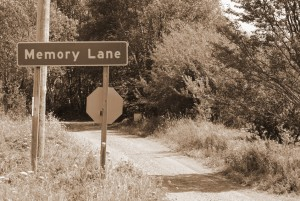 Memory Lane in Sepia