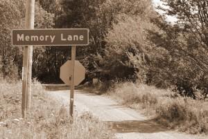 Memory Lane in Sepia