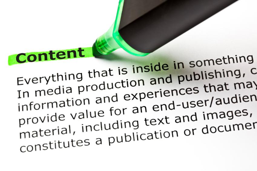 Buzzwords, SEO content