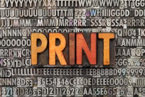 How to use print to promote your brand